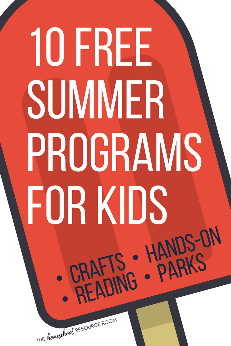 10 FREE Summer Programs for Kids for Fantastic FUN & Learning!
